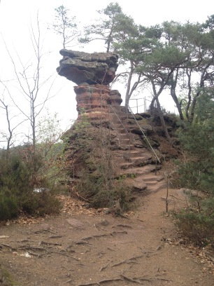 Dahner Felsenpfad in der Pfalz